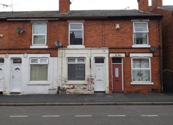 Thumbnail 2 bedroom terraced house for sale in Lonsdale Road, Radford, Nottingham, Nottinghamshire