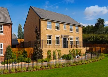 "Thumbnail 4 bedroom detached house for sale in ""Layton"" at New Road, Tankersley, Barnsley"