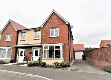 Thumbnail 4 bed semi-detached house for sale in Edison Drive, Rugby