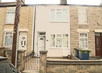 Thumbnail 3 bedroom terraced house to rent in Percival Street, Peterborough, Cambridgeshire.