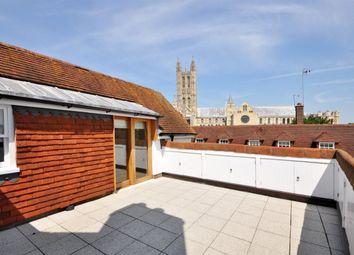 Thumbnail 3 bed flat to rent in Iron Bar Lane, Canterbury