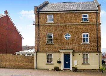 Thumbnail 5 bed end terrace house for sale in Smart Close, Blunsdon, Swindon
