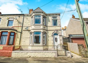 Thumbnail 4 bed end terrace house for sale in Pontypridd Street, Barry