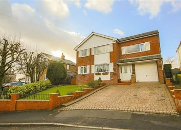 Thumbnail 4 bedroom detached house for sale in Hillside Crescent, Weir, Lancashire