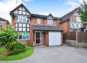 Thumbnail 4 bed detached house for sale in Edale Drive, South Normanton, Alfreton