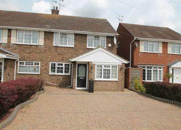 Thumbnail 3 bed semi-detached house for sale in Eversley Road, Benfleet, Benfleet