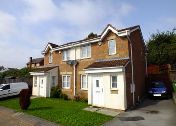 Thumbnail 3 bed semi-detached house for sale in Oakham Garth, Leeds, West Yorkshire