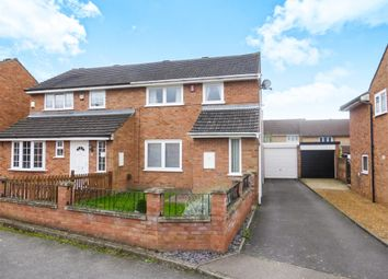Thumbnail 3 bed semi-detached house for sale in Croft Close, Wellingborough
