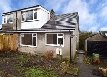 Thumbnail 3 bed bungalow for sale in Gillstone Drive, Crossroads, Keighley, West Yorkshire