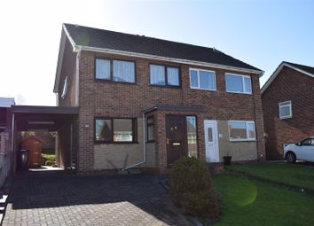 Thumbnail 3 bedroom semi-detached house for sale in Laburnum Road, Newhall, Swadlincote