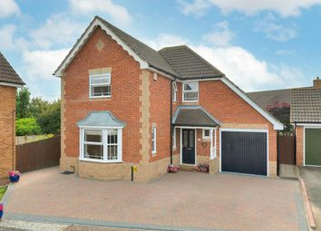 Thumbnail 4 bed detached house for sale in Saxon Close, Kings Hill
