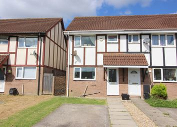 Thumbnail 2 bed end terrace house for sale in Lavender Court, Brackla, Bridgend.