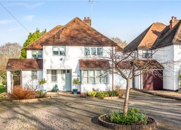 Thumbnail 4 bed link-detached house for sale in The Drive, Virginia Water, Surrey