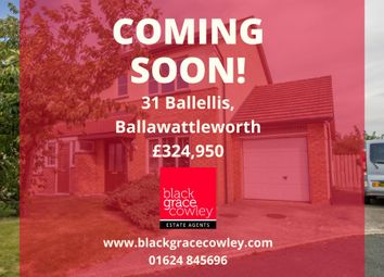 Thumbnail 3 bed semi-detached house for sale in Ballawattleworth Estate, Peel, Isle Of Man