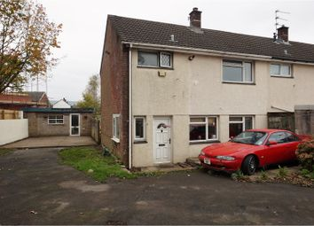 Thumbnail 3 bed semi-detached house for sale in Fardre Court, Pontypridd