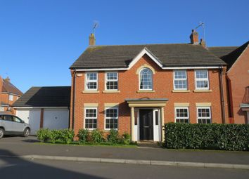 Thumbnail 4 bed detached house for sale in Bancroft Way, Wootton, Northampton