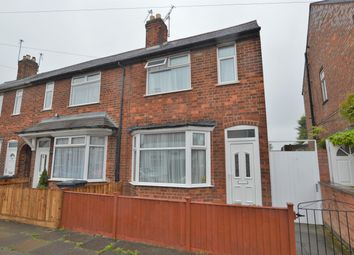 Thumbnail 2 bed end terrace house for sale in Vernon Road, Leicester