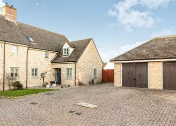 Thumbnail 4 bed semi-detached house for sale in Oxford Court, Weston-On-The-Green, Bicester