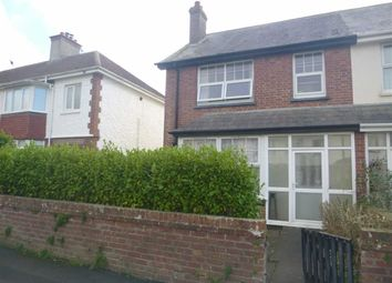 Thumbnail 2 bed flat to rent in Victoria Road, Bude, Cornwall