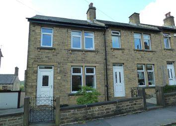 Thumbnail 2 bed end terrace house for sale in Heathfield Road, Golcar, Huddersfield