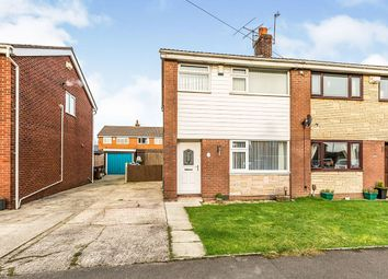 Thumbnail 3 bed semi-detached house for sale in Lowther Crescent, Leyland, Lancashire