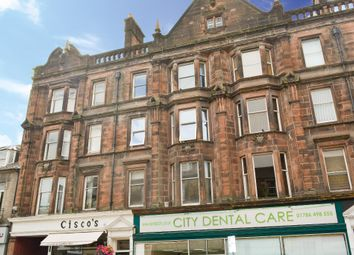 Thumbnail 2 bed flat for sale in Port Street, Stirling