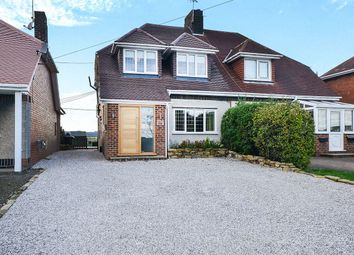 Thumbnail 3 bed semi-detached house for sale in Holly House Main Road, Stretton, Alfreton