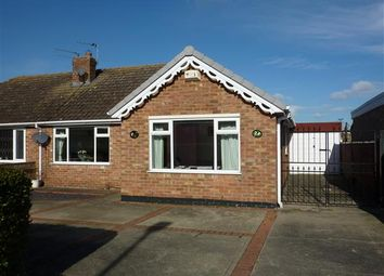 Thumbnail 2 bed semi-detached bungalow for sale in St Johns Road, Humberston, Grimsby