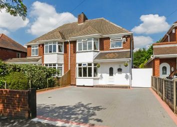 Thumbnail 3 bed semi-detached house for sale in Burntwood Road, Cannock, Staffordshire