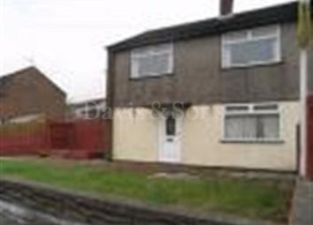 Thumbnail 3 bed end terrace house to rent in Manor Way, Risca, Newport, Newport.