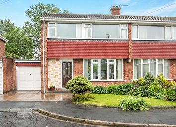 Thumbnail 3 bedroom semi-detached house for sale in Egham Road, Chapel House, Newcastle Upon Tyne
