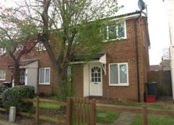 Thumbnail 1 bed end terrace house to rent in Avondale Road, Northants, Kettering