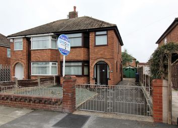 Thumbnail 3 bed semi-detached house for sale in Rossington Avenue, Blackpool
