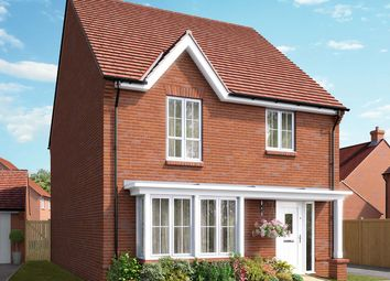 "Thumbnail 4 bed detached house for sale in ""The Oxford"" at Boorley Green, Winchester Road, Botley, Southampton, Botley"