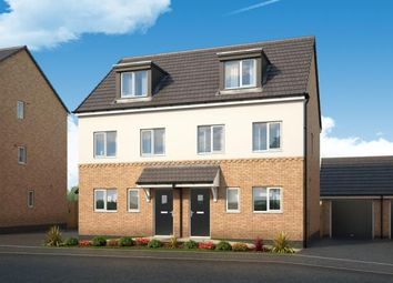 "Thumbnail 3 bed property for sale in ""The Caraway At Chase Farm, Gedling"" at Arnold Lane, Gedling, Nottingham"