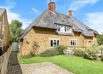 Thumbnail 3 bed semi-detached house for sale in North Newington, Banbury