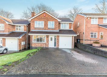 Thumbnail 4 bedroom detached house for sale in Walmley Close, Halesowen