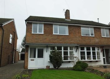 Thumbnail 3 bed semi-detached house to rent in Park Road, Burton On Trent, Staffs