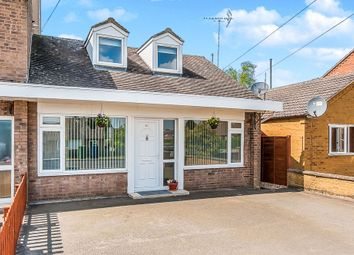 Thumbnail 3 bedroom chalet for sale in Main Road, Friday Bridge, Wisbech
