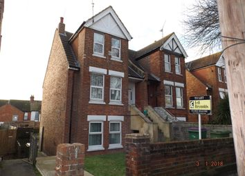Thumbnail 3 bed maisonette to rent in Canterbury Road, Folkestone