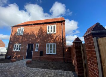 Thumbnail 3 bedroom semi-detached house for sale in Holt Road, Edgefield, Melton Constable