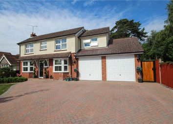 Thumbnail 5 bed detached house for sale in Kings Road, Fleet