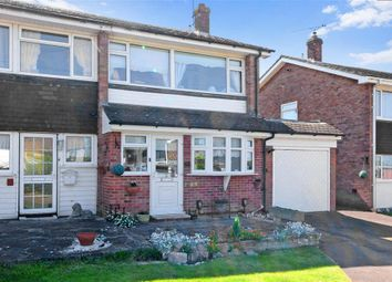 Thumbnail 3 bed semi-detached house for sale in Maypole Drive, Chigwell Row, Essex