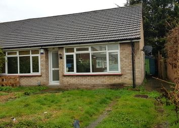 Thumbnail 2 bed bungalow to rent in Clarence Road, Croydon
