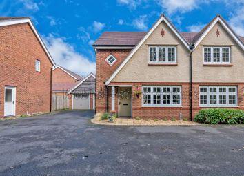 Thumbnail 3 bed semi-detached house for sale in Elliot Drive, Churchbridge, Cannock