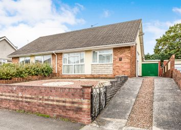 Thumbnail 3 bed semi-detached bungalow for sale in Hendre Road, Pencoed, Bridgend