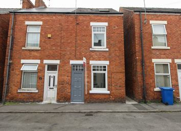 Thumbnail 3 bedroom semi-detached house for sale in John Street, Brampton, Chesterfield