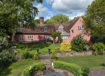 Thumbnail 5 bed detached house for sale in Calford Green, Kedington, Suffolk