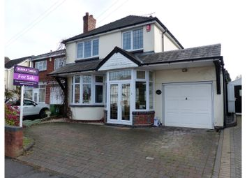 Thumbnail 3 bed detached house for sale in Greenhill Road, Halesowen