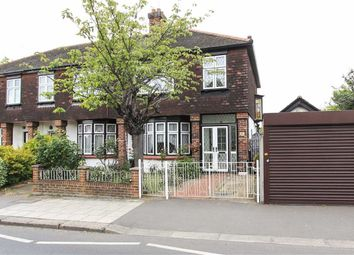 Thumbnail 3 bedroom end terrace house for sale in Aldborough Road South, Seven Kings, Essex